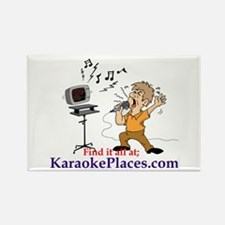 Karaoke Fridge Magnet