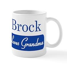 Brock loves grandma Mug
