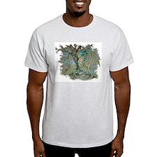 Dragon & the Raccoon Ash Grey T-Shirt
