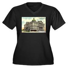 Court House 1 Huntington Indi Women's Plus Size V-