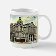 Court House 1 Huntington Indi Mug