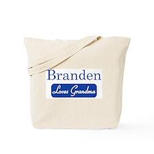 Branden loves grandma Tote Bag