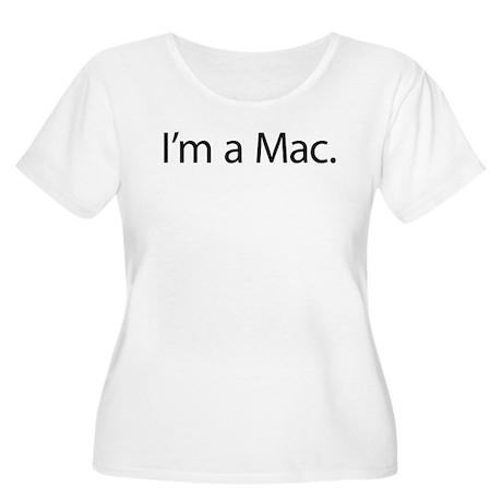 I'm A Mac Women's Plus Size Scoop Neck T-Shirt
