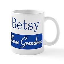 Betsy loves grandma Mug