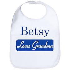 Betsy loves grandma Bib