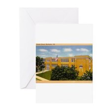 Central School Huntington Ind Greeting Cards (Pk o