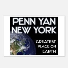 penn yan new york - greatest place on earth Postca