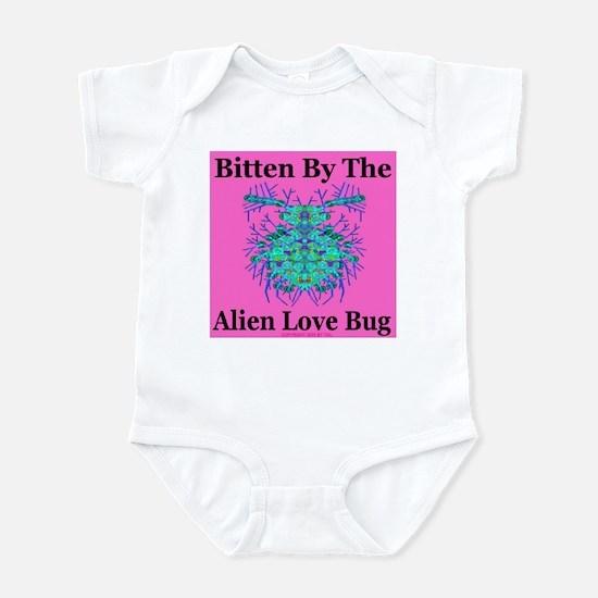 Alien Love Bug Infant Creeper