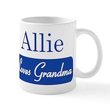 Allie loves grandma Mug