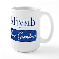 Aliyah loves grandma Mug