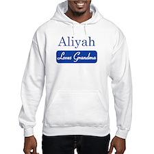 Aliyah loves grandma Hoodie