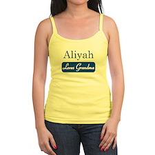 Aliyah loves grandma Jr.Spaghetti Strap