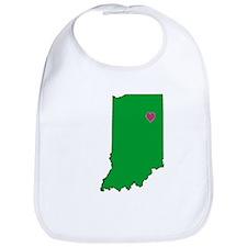 State Map Indiana Bib