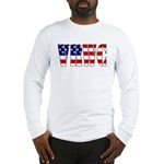 VRWC Red White & Blue Long Sleeve T-Shirt