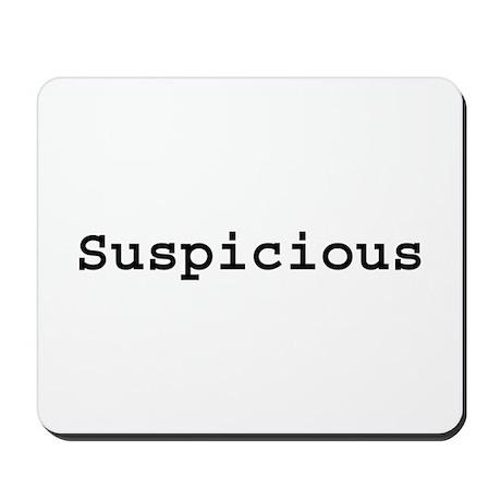 Suspicious Mousepad