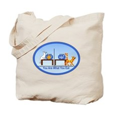 What You Eat Tote Bag