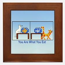 What You Eat Framed Tile