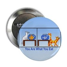 """What You Eat 2.25"""" Button"""