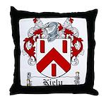 Kiely Coat of Arms Throw Pillow