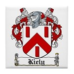 Kiely Coat of Arms Tile Coaster
