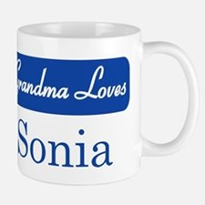 Grandma Loves Sonia Mug