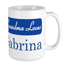 Grandma Loves Sabrina Mug