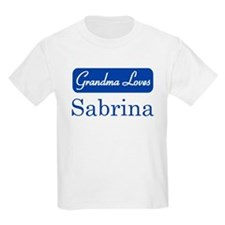 Grandma Loves Sabrina T-Shirt