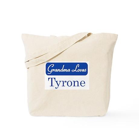 Grandma Loves Tyrone Tote Bag