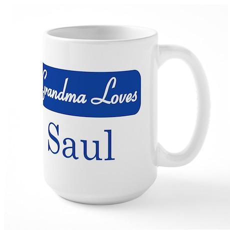 Grandma Loves Saul Large Mug