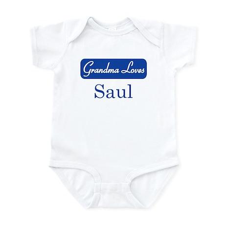 Grandma Loves Saul Infant Bodysuit