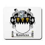 Lawless Coat of Arms Mousepad