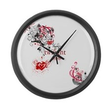 Twilight Forever Large Wall Clock