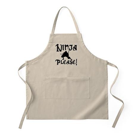 Ninja Please! BBQ Apron
