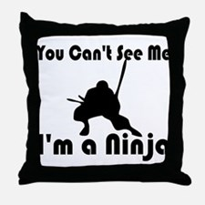 I'm a Ninja Throw Pillow