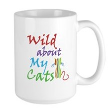 Wild about My Cats (center) Mug