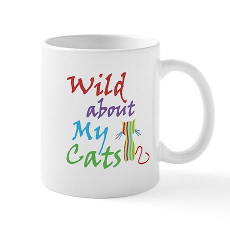 Wild about My Cats Mug