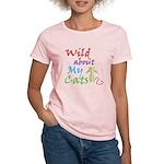 Wild about My Cats Women's Light T-Shirt