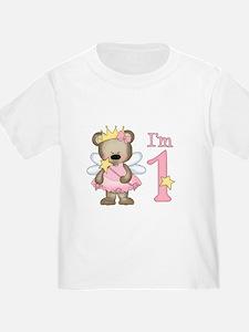 Bear Princess First Birthday T