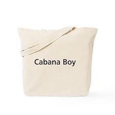 Cabana Boy Tote Bag