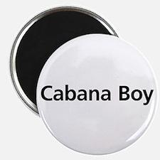 """Cabana Boy 2.25"""" Magnet (10 pack)"""