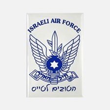 Israel Air Force Blue Rectangle Magnet