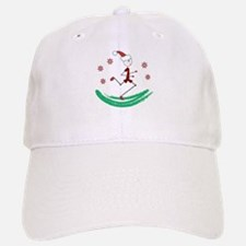 Holiday Runner Guy Baseball Baseball Cap