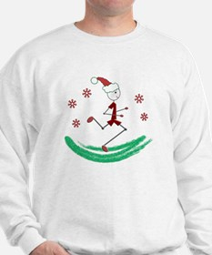 Holiday Runner Guy Sweatshirt