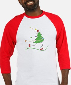 Christmas Tree Runner Baseball Jersey