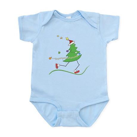 Christmas Tree Runner Infant Bodysuit