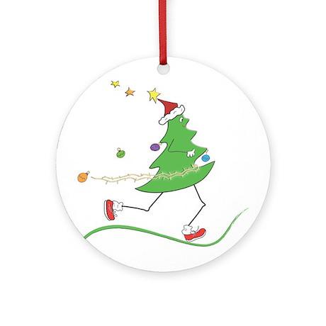 Christmas Tree Runner Ornament (Round)