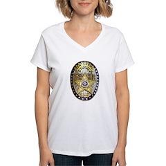 Twin Falls Sheriff Women's V-Neck T-Shirt
