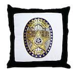 Twin Falls Sheriff Throw Pillow
