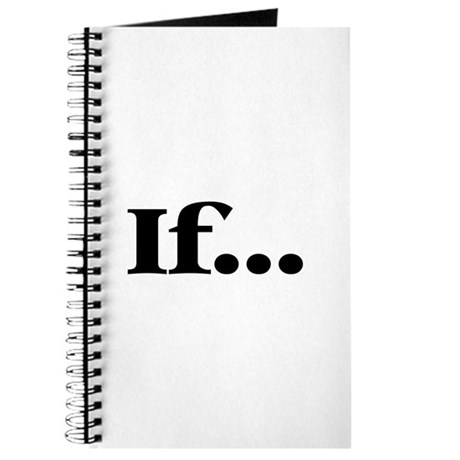 If... Journal