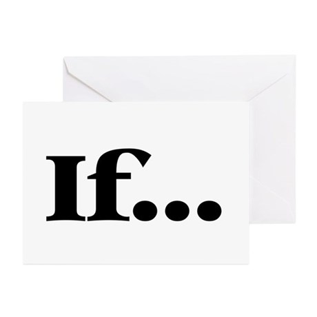 If... Greeting Cards (Pk of 10)